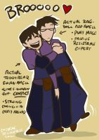 DA - Actual Amell Brothers by emedeme