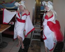 Amaterasu cosplay by NiennaSurion