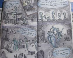 Kat's Haunted Mansion Comic by KatisMrsLovett