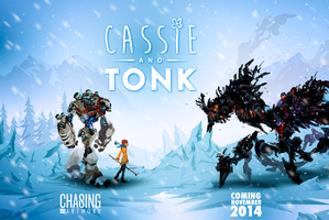 Cassie and Tonk: Coming soon. by ChasingArtwork