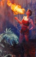 Fire Breather by cyndavalle