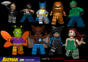 Lego Batman Icons by XxXDASXxX
