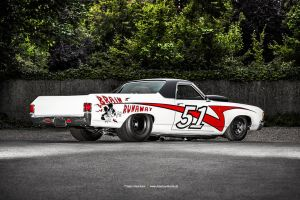 Pro Street El Camino II by AmericanMuscle