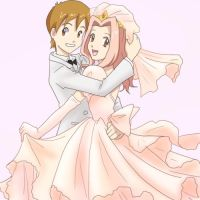 Wedding for tatsunokoisthebest by taichikun14