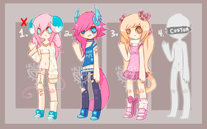 SugarHorn First batch Auction! {CLOSED} by Kiwi-adopts