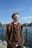 'The Doctor Sees' 10th Doctor (River Thames) by TimeLord1991