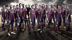 BARCELONAs 09-10 TEAM by stellar18
