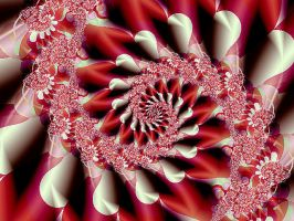 table cloth spiral by fractalhead