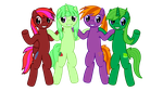 TDBN Group Vector by PonyHD