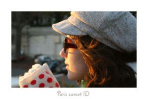 Paris sunset ID by Not-of-this-age