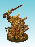 Nurgle Great Unclean One by nergling