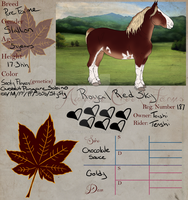 187 Royal Red Sky by AutumnCreekFarms