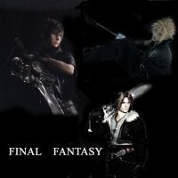 FINAL FANTASY DARK FIGHTERS... by sephimore