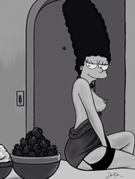 Marge Simpson by CarelessDanny