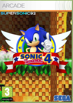 Sonic The Hedgehog 4 Box Art by SuperSonic92