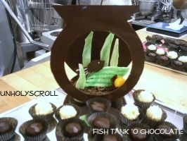 Lindt Chocolate Showpiece by UnholyScroll
