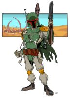 B for Boba fett by RNZZZ