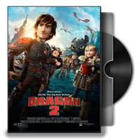 How to Train Your Dragon 2 Folder Icon by musacakir