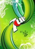 7UP DESIGN - BEVERAGE SERIES by hasanaliakhtar