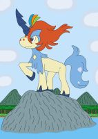 Keldeo - Resolute Form by MCsaurus