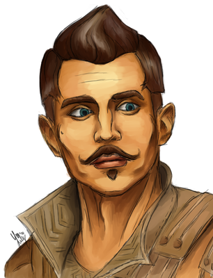 Dorian Pavus - Dragon Age Inquisition by Lilymilou