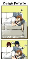Hyotei 90themes: Couch Potato by omittchi