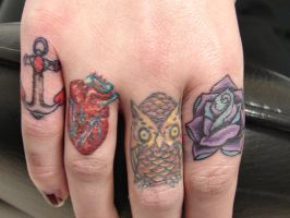 full set of minis by Mariotattoos
