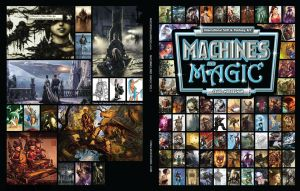 Machines and magic Cover by angelitoon
