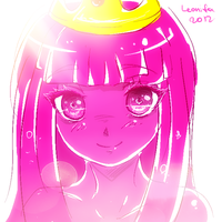 princess Bubblegum by Leonifa