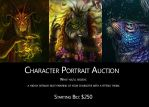 Character Portrait Auction! by Maquenda