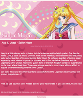 Act 1. Usagi - Sailor Moon by Meinona