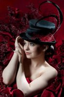 Feathered Hat by Cica Mica by impureacts