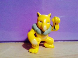 My hpyno figure from Pokemon  by Queenofskys