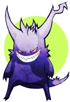 Alternate Gengar Concept by Hanogan
