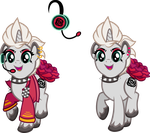 Marina Rose Commission Complete by Rainseed