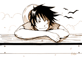 Monkey D. Luffy by Ketsu000