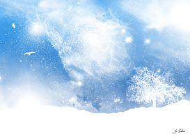 Snow Landscape by Sk-Styles