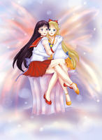 Love 05 - Senshi Love by VBunny