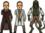 Dr. Connors / The Lizard (Earth-96283) by MicroManED