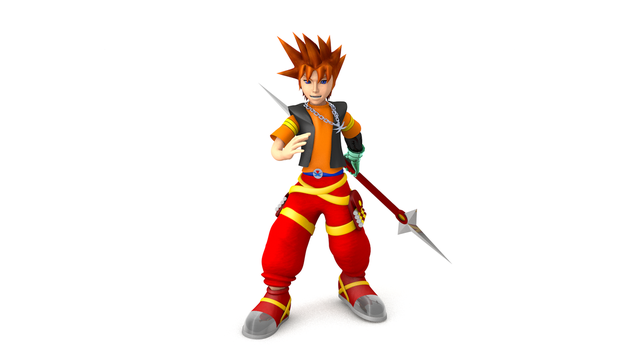 Kingdom Hearts Generation of Guardians: Saru by TheRPGPlayer