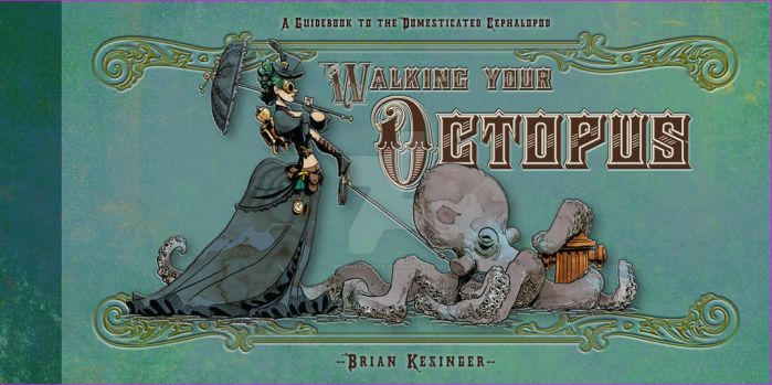 book cover announcement! by BrianKesinger