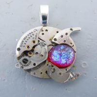 BABYLON 5 STEAMPUNK PENDANT by Create-A-Pendant