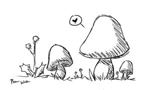 Quickie Shroom by ChibiPandaMonster
