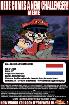 My street fighter meme by Shadaloo1989