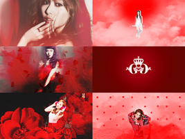 SNSD red  for Linh by Sayumikute