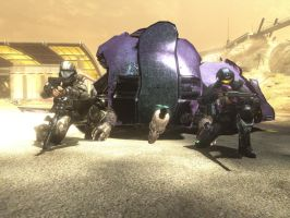 Odst Partners by King-of-Darkness50