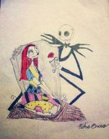 Jack and Sally by alexwolf10