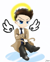 Angry Chibi Cassss c: by Martyna-Chan