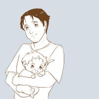 Marco and baby jean by foxyjoy