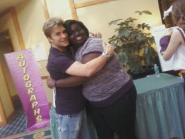 Me and vic mignogna by seiren2347